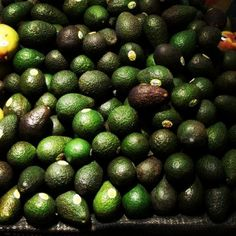 Avocados  Green: helps purify the blood and lifts the spirit.
