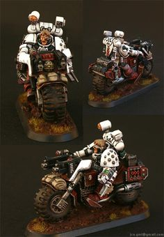 Apothecary, Blood Angels, Fast Attack, Jca, Priest, Red, Sanguinary, Weathered, White - Sanguinary Priest on Bike - Gallery - DakkaDakka | Would you like to know more?