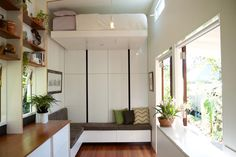 Retractable Bed - Portal by The Tiny House Company