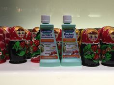 Dr. Beckmann Stain Devils Fatty Materials and Sauces in good company of russian Matroschka #stainfree #laundry