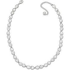 Swarovski necklace option with bigger crystals