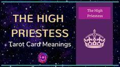 The High Priestess Tarot Card Free Tarot, Tarot Card Meanings, Major Arcana, Tarot Cards, Meant To Be, Videos, Tarot, Video Clip, Tarot Decks