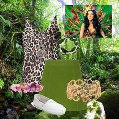 """Katy Perry's Roar"" by celticgeek on Polyvore potential katy perry concert outfit"