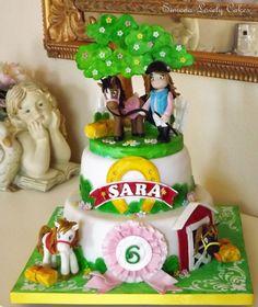 Torta Cavalli Horses Cake
