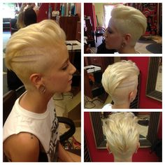 Wanna spice up your style with these modern and stylish haircuts? Here are the images of Amazing Short Modern Haircuts that you will love, check them out and. Funky Short Haircuts, Modern Haircuts, Short Hair Cuts, Short Hair Styles, Fade Haircut, Hair Art, Men's Hair, Girl Hair, Great Hair