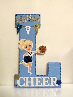 Personalized Letter- Secret Sister Cheerleader Gift