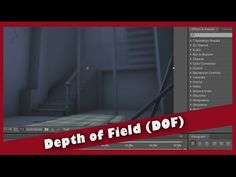 Maya - After Effects - Depth of Field