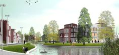 West 8 Urban Design & Landscape Architecture / projects / Jenfelder Au (formerly New Jenfeld)