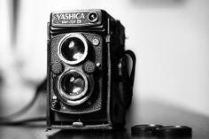 Hintergrundbilder Retrowelle Großansicht Fotoapparat Yashica MAT 124G