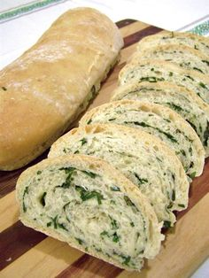 Italian Herbal Swirl Bread