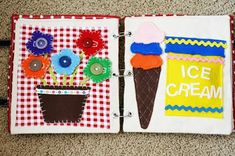 DIY Quiet Book - The Crafting Chicks
