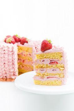 Cukor- és gluténmentes epertorta recept
