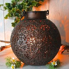 I've just found Copper Globe Garden Lantern. Perfect for both your home or garden this stunning Moroccan style lantern will create a magical atmosphere for your Spring and Summer parties.. £49.95