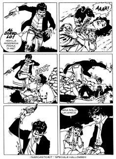Pagina 51 - L'alba dei morti viventi - lo speciale #Halloween de #iSarcastici4. #LuccaCG15 #DylanDog #fumetti #comics #bonelli