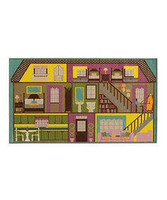 Loving this Play House Rug on #zulily! #zulilyfinds