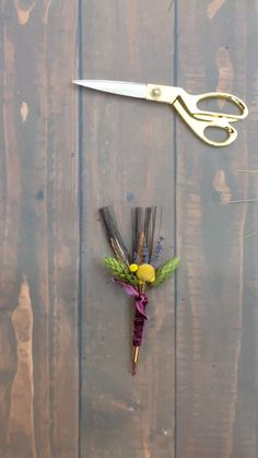 How To Make A Rustic Boutonniere