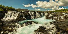 BRÚARFOSS  WATERFALL...   Arnessysla, Iceland.