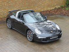 2014 (14) Porsche 911 (991) Targa 4S PDK   Basalt Black Metallic