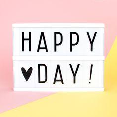 Happy Day! #dimanchematin #lightbox #mylittleday