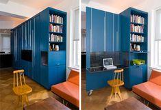 Micro Apartment Custom Cabinet 1