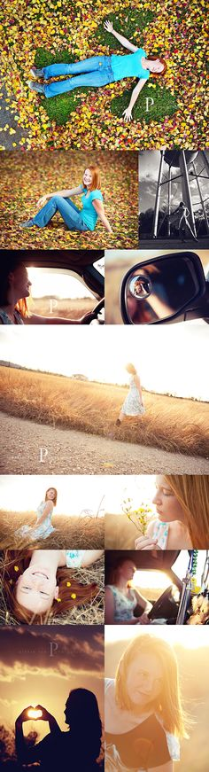 love the top photo - angel wings in the leaves - love the color, light, and the feel of these photos