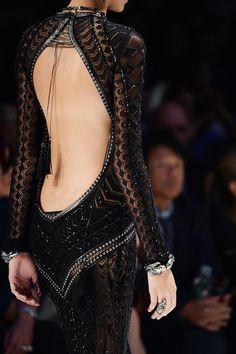 Roberto Cavalli fall 2014 2015 dress fashion details