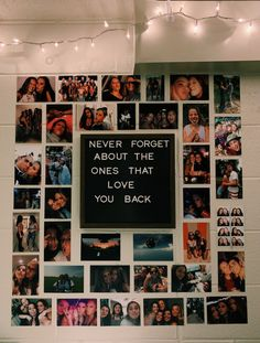 Pin by Sophie on house/room in 2018 College Dorm Decorations houseroom Pin Sophie Cute Room Ideas, Cute Room Decor, Teen Room Decor, Room Ideas Bedroom, Bedroom Inspo, Picture Room Decor, Bedroom Decor Pictures, Picture Wall, Room Decor Diy For Teens