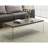"Found it at Wayfair. Monarch Specialties Inc. Coffee Table.  16"" H x 44"" W x 22"" D"