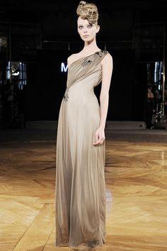 Fall 2009 RTW Catherine Malandrino - model,Tanya Dziahileva