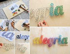 Uma ótima idéia para decorar a casa!