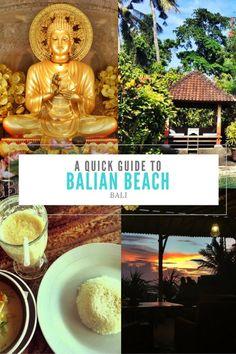A Quick Guide to Balian Beach: Bali