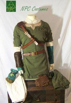 #Zelda Twilight Princess - Link's tunic cosplay costume