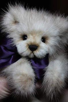 Beartrice Mink Bear by Kimbearlys Originals