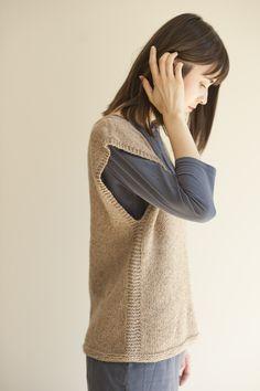 sandy vest knit pattern
