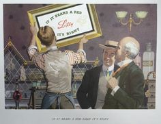 Vintage 1960's Eli Lilly Pharmaceutical Prints 5 by AuntDotsPlace