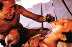 Mentawai Tattoo - Known as Titi, the oldest tattoo art in the World which part of the Mentawai tribe cultures (Indonesia).