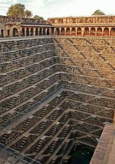 Deepest Stairwell in the World....India