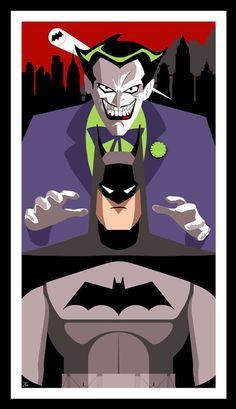 Look joker is gonna give batman a shoulder rub!!! They are total besties!