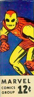 Marvel corner box art - Tales to Astonish starring Iron Man