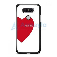 You Are Here Love LG G5 Case | armeyla.com