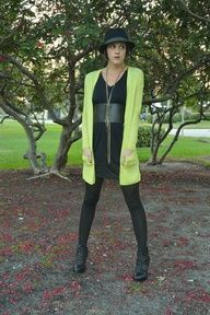 Bold menswear inspired outfit as worn by @Gina de Villiers Harris. Featuring @T..J.Maxx  @Marshalls