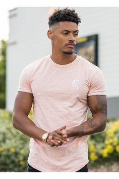 Gym King Fitted Long Line T-Shirt - Rose - Tap the pin if you love super heroes too! Cause guess what? you will LOVE these super hero fitness shirts! Trendy Mens Haircuts, Black Men Haircuts, Black Men Hairstyles, Hairstyles Haircuts, Curly Hair Men, Curly Hair Styles, Natural Hair Styles, Taper Fade Haircut, Gorgeous Black Men