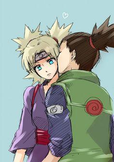 Naruto Couples ♥ Fan Art: Shikamaru Nara and Temari