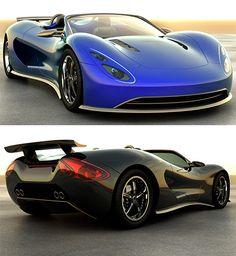 Scorpion Hydrogen Sportscar. Wow.