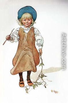 Carl Larsson (1859-1928): Esbjorn Fishing