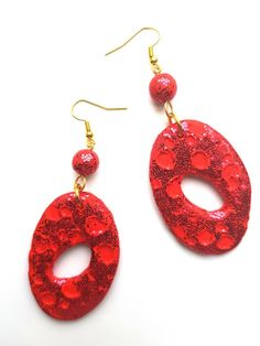 Excited to share the latest addition to my #etsy shop: Red Moonstruck #Hoop Earrings #DangleEarrings #DropEarrings #GiftIdea #RedEarrings #Jewellery #Accessories #SparklyEarrings #Glitz #Glam #jewelry #earrings #red #handmade #handmadejewellery #handmadeinlondon #afro #afrocentric #back2natural4u #back2natural4ujewellery #earringsoftheday #jewelleryoftheday #blackbusiness #fashionjewellery #fashion #womeninbusiness #mumpreneur #africanfashion #blackstyle #blackculture #crafting…
