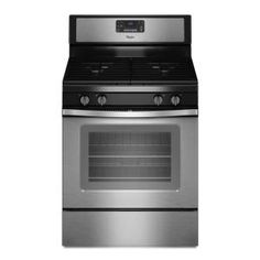 Whirlpool 5.0 cu. ft. Gas Range with Self-Cleaning Oven in Stainless Steel WFG515S0ES at The Home Depot - Mobile