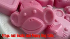 homemade soap that kids can help make. Apple scent soap. Fun kids activity.
