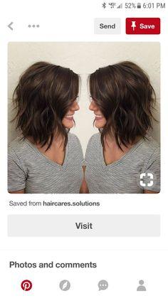Diy Haircut Layers, Textured Haircut, Haircut For Thick Hair, Long Hair Cuts, Trending Haircuts, Cool Haircuts, Cool Hairstyles, Shoulder Haircut, Shoulder Length Hair