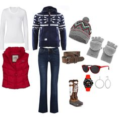 """""""winter"""" by thetrendyhomemaker on Polyvore"""